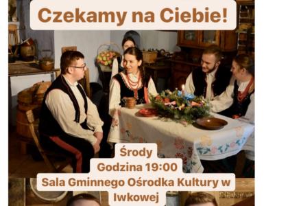 """Thumbnail for the post titled: Nabór do Zespołu Pieśni i Tańca """"Iwkowianie"""""""