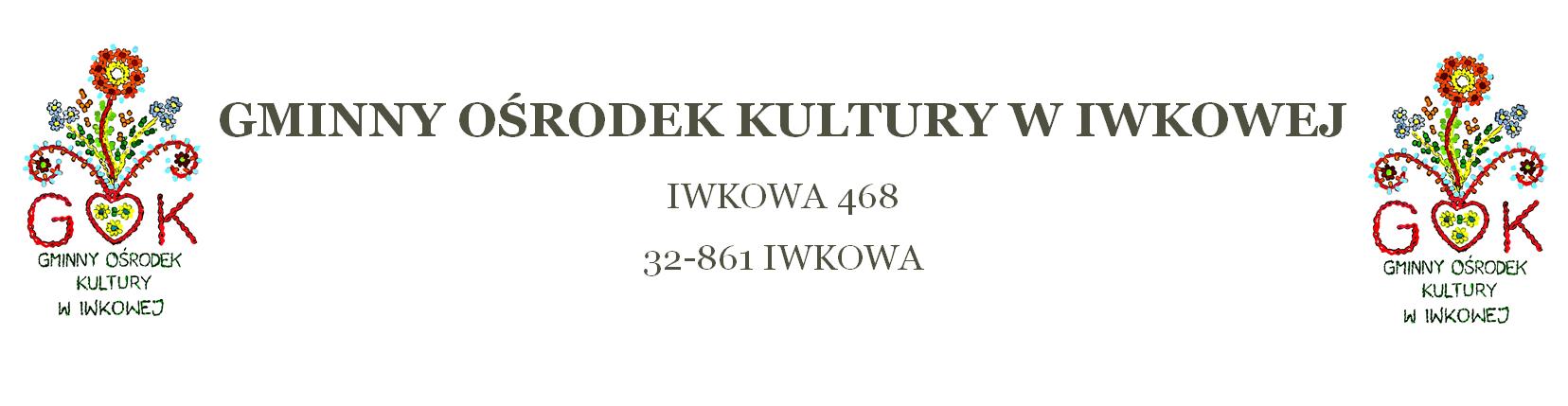 Logo for Gminny Ośrodek Kultury w Iwkowej